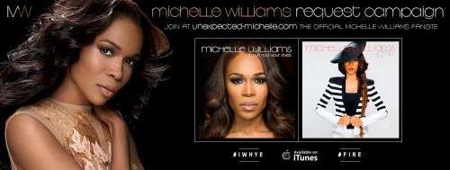 Michelle Williams Request Campaign (Banner by Jonathan Gardner)
